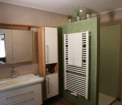 Fugenlose Wandgestaltung Badezimmer